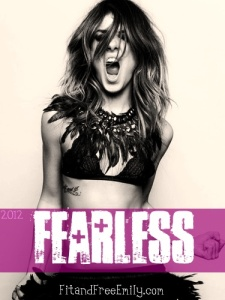 Be fearless! We need every part of us